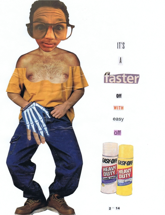 faster off with easy off (collage)