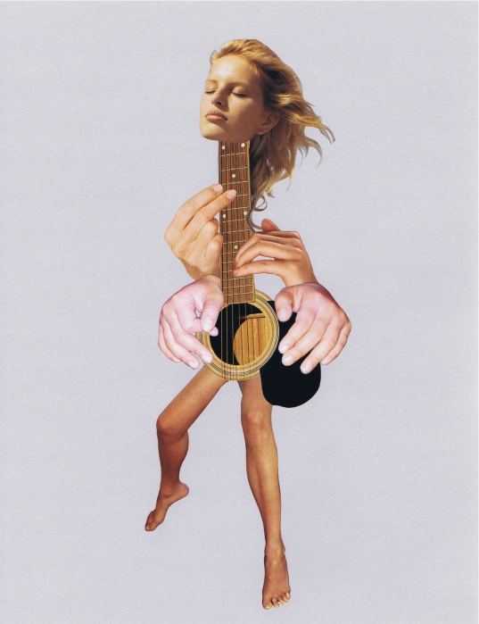 guitar (collage)