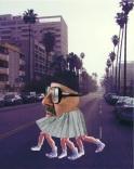 LA legs, collage